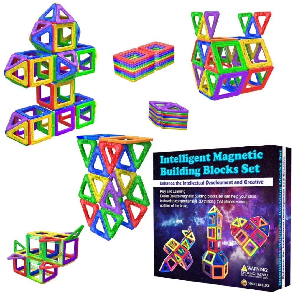Bloques magnéticos de construcción